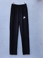 Спортивные штаны для мальчика на 12-16 лет серого, черного цвета Nike оптом