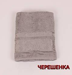 Махровое полотенце банное CESTEPEBUKET (150*90) Серый