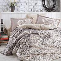 Комплект постельного белья Hobby Flannel Serenity серый Двуспальный евро комплект