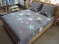 Комплект постельного белья бязь Голд Звезды Полуторный