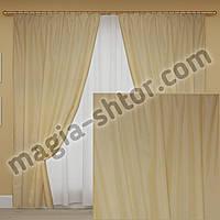 Готовые шторы лен, фото 1
