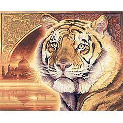 """Алмазная вышивка 40х50см - набор """"Тигр"""""""