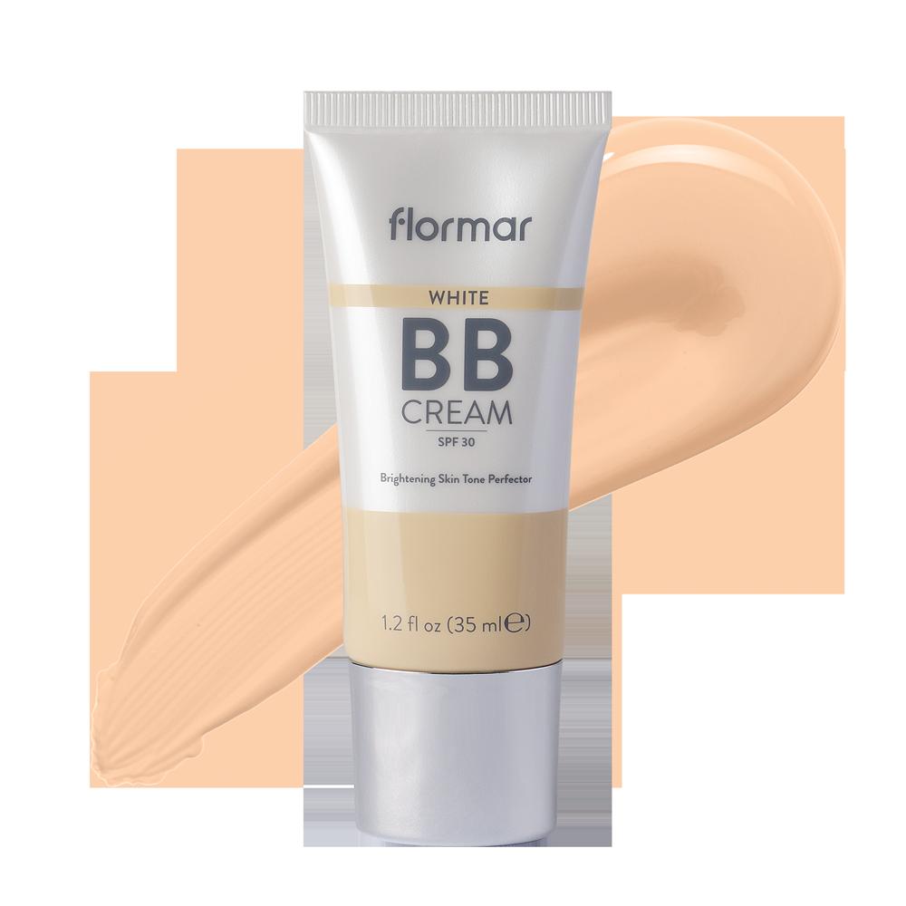 Відбілюючий ВВ крем SPF30 Akten Cosmetics Flormar 02 Light Medium 35 мл (2742515)