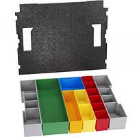 Bosch Комплект вставних коробок дo L-BOXX 102, 13 шт