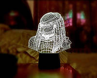 """3D светильник """"Хищник"""" 3DTOYSLAMP"""