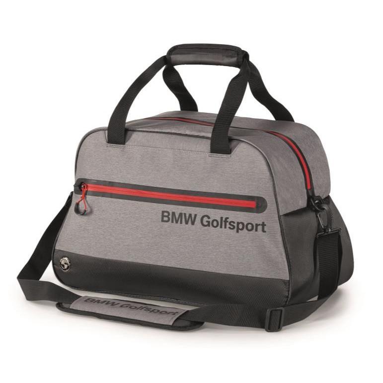 Оригинальна спортивная сумка BMW Golfsport Bag, Black / Grey / Red, артикул 80222460965