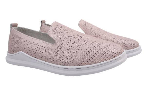 Туфли комфорт Vensi натуральная кожа, цвет розовый