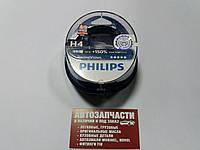 Лампа накаливания H4 12V 6055W P43t-38 RacingVision +150 more light комплект пр-во Philips