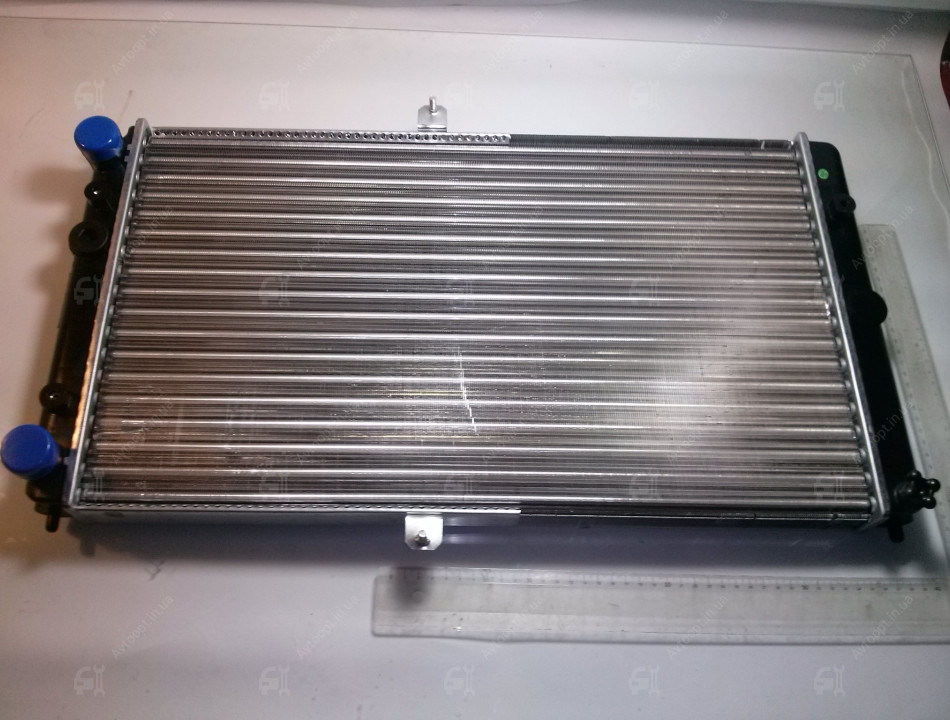 Радиатор вод. охлажд. ВАЗ 2110,-11,-12 (карб) (пр-во ПЕКАР), 21120-1301012