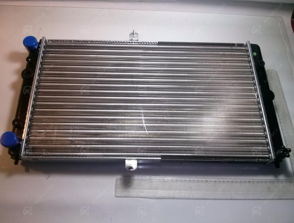 Радіатор вод. охо. ВАЗ 2110,-11,-12 (карб) (пр-во ПЕКАР), 21120-1301012