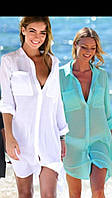 Туника-рубашка пляжная женская А9290, фото 1