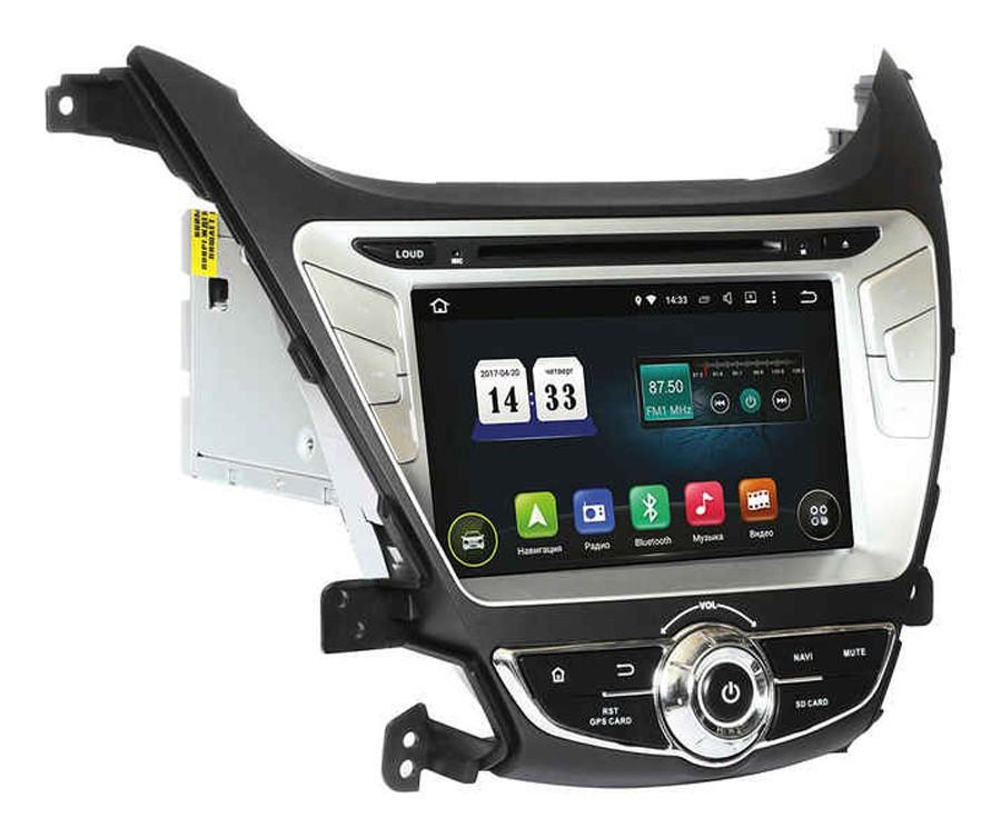 Штатное головное устройство Incar Hyundai Elantra 2014-2015 (AHR-2464) Android 4.4.4