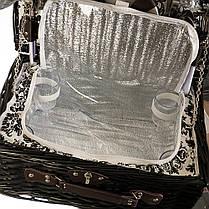 Корзина на 4-х персон с сумкой-холодильником (024PPN), фото 3
