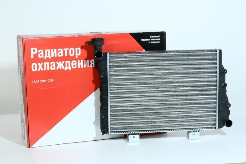 Радіатор вод. охо. ВАЗ-2105 (вир-во ДААЗ), 21050-130101220
