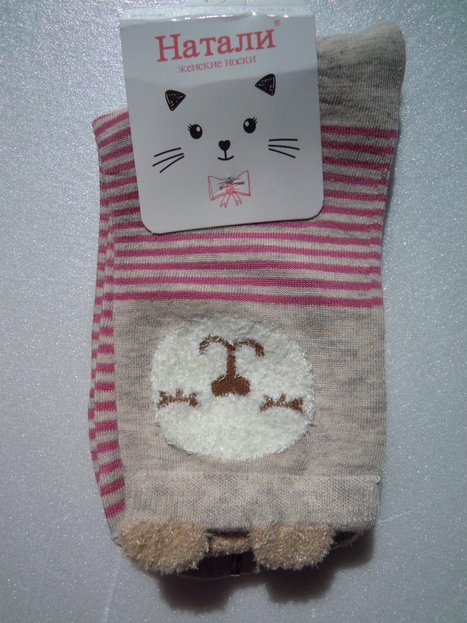 Шкарпетки жіночі з вушками 5, розмір 36-40