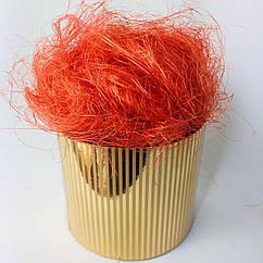 Сизаль 80 г, оранжевая