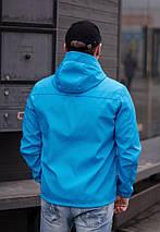 """Стильная мужская куртка-ветровка """"PLEIN"""" с карманами и капюшоном (2 цвета), фото 3"""