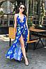 Женское стильное платье-сарафан