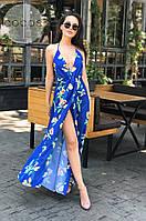Женское стильное платье-сарафан, фото 1