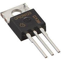 IGBT транзистор SGP02N120 INFIN