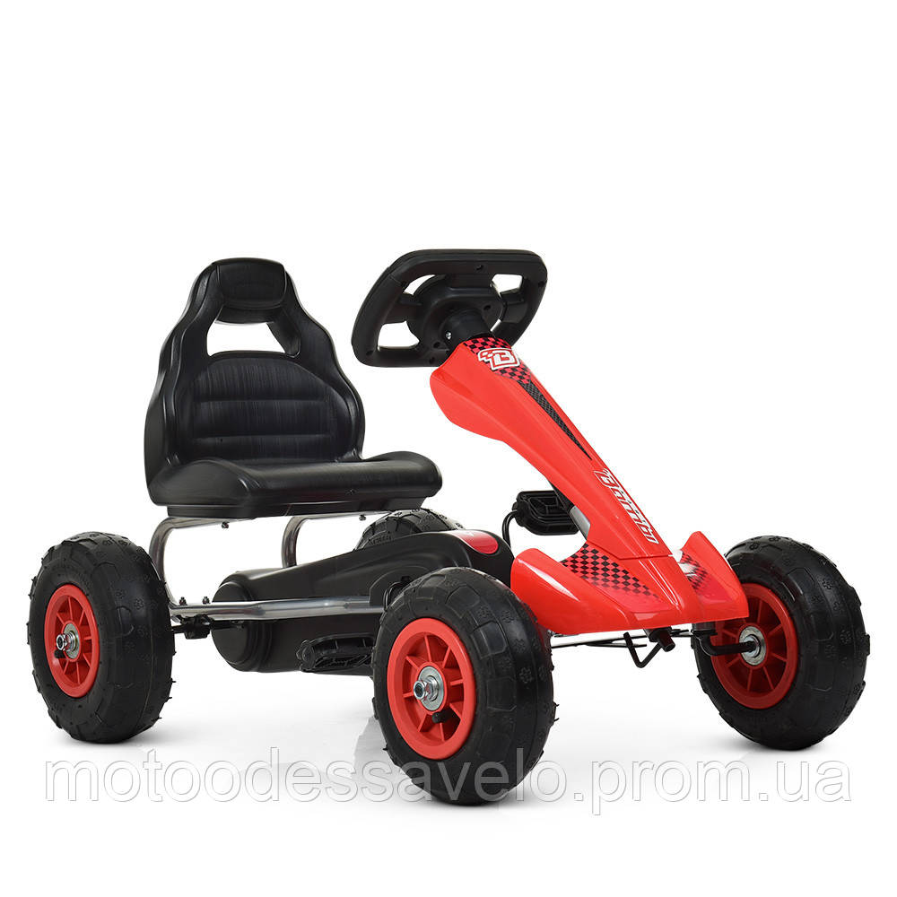 Педальная машинка Bambi КАРТ M 4036-3