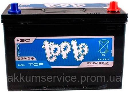 Аккумулятор автомобильный ToplaTop Asia 105AH R+ 900A (60518 SMF)