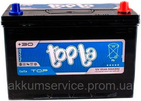 Аккумулятор автомобильный Topla Top Asia 105AH L+ 900A (60519 SMF)