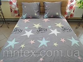 Комплект постельного белья бязь Голд Звезды