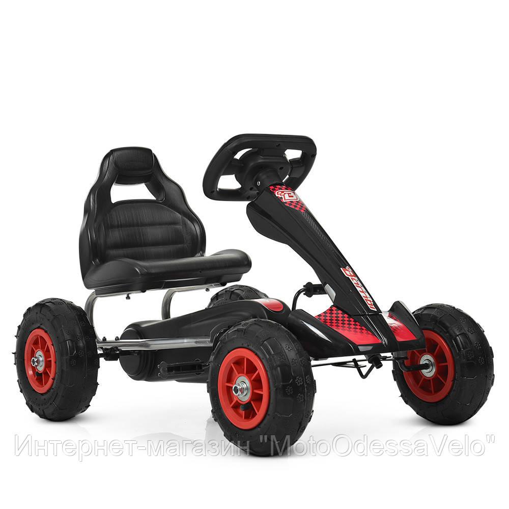 Педальная машинка Bambi КАРТ M 4036-2