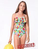 Польський купальник для дівчинки розмір 122,128,134,146
