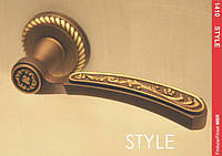 Ручка Mandelli 1411 Style мат.бронза R ф/з