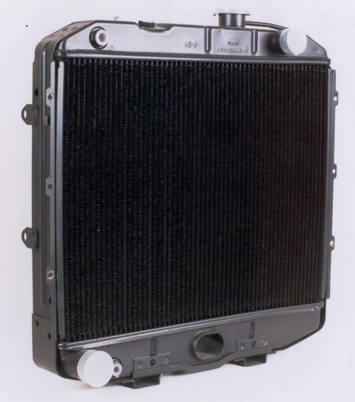 Радиатор вод. охлажд. УАЗ (3-х рядн) медн. (TEMPEST), 3741-1301010-01С