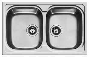 Кухонная мойка PYRAMIS AMALTIA (86*50) 2B (92 mm), фото 2