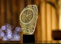 """Сменная пластина для 3D светильников """"Часы"""" 3DTOYSLAMP, фото 1"""