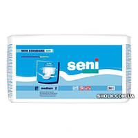 Подгузники Для Взрослых Seni Standard Air Medium (30 шт) 6 капель (75-110 см)