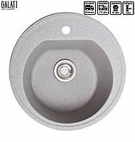 Кухонная мойка гранитная Galati Klasicky Seda (601) 8670 серый