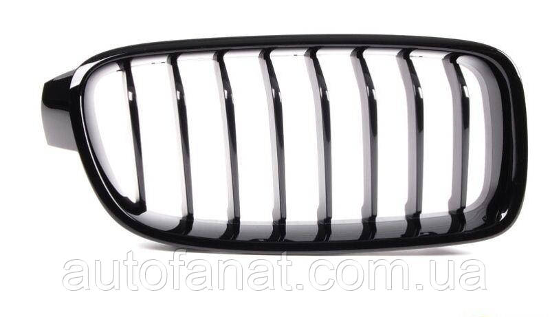 Оригинальная решетка радиатора черная левая M Performance BMW 3 (F30, F31, F35, F35 LCI) (51712240775)