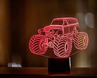 """Сменная пластина для 3D светильников """"Автомобиль 38"""" 3DTOYSLAMP, фото 1"""