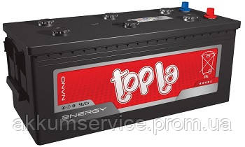 Аккумулятор автомобильный  ToplaEnergy Truck 135AH R+ 800A без борта