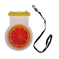 Чехол водонепроницаемый для смартфона Tropical Fruit Апельсин