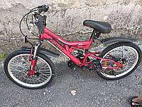 Велосипед Azimut Blackmount 20дюймов. Черно-красный., фото 1