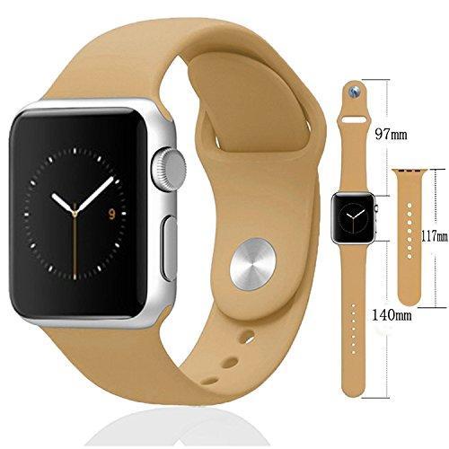 Ремешок 38/40mm Sport Band S/M для Apple Watch Series 1/2/3/4 - Walnut