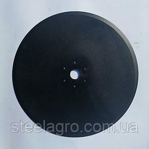 Диск сошника  381х4мм ф30, 6отв. 6.8мм меж. 73мм(GD AA55927, AA20242, AA53860,MF 852063, 700164701)Kinze Кинзе