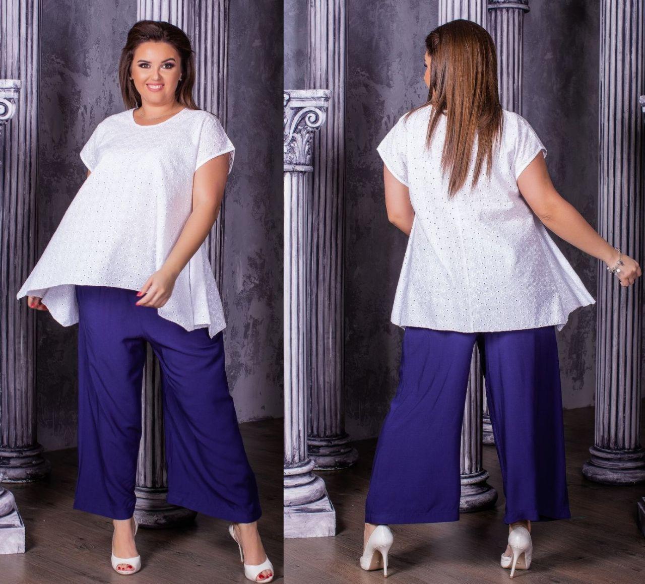 Женская модная блузка  НИ0199 (бат)