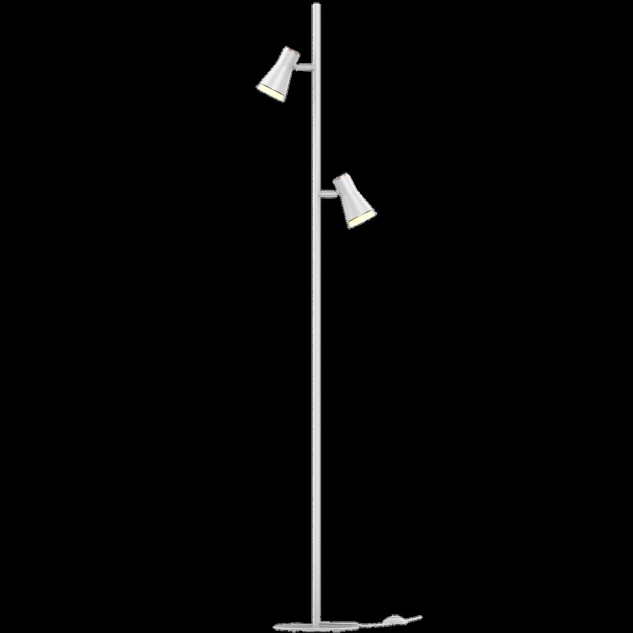 Спотовый светодиодный светильник (торшер) MAXUS MSL-02F 2x4W 4100K Белый