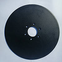 Диск сошника сеялки Semeato 16 ' 406мм ф75мм 6отв. 9мм ст65Г,бор (5070058A/56020005)