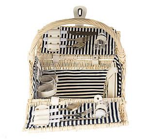 Корзина-сумка с ручкой для пикника на 2 персоны (021PPN), фото 2