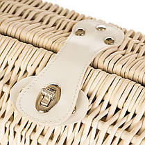 Корзина-сумка с ручкой для пикника на 2 персоны (021PPN), фото 3