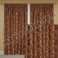 Готовые шторы из плотной ткани, фото 1