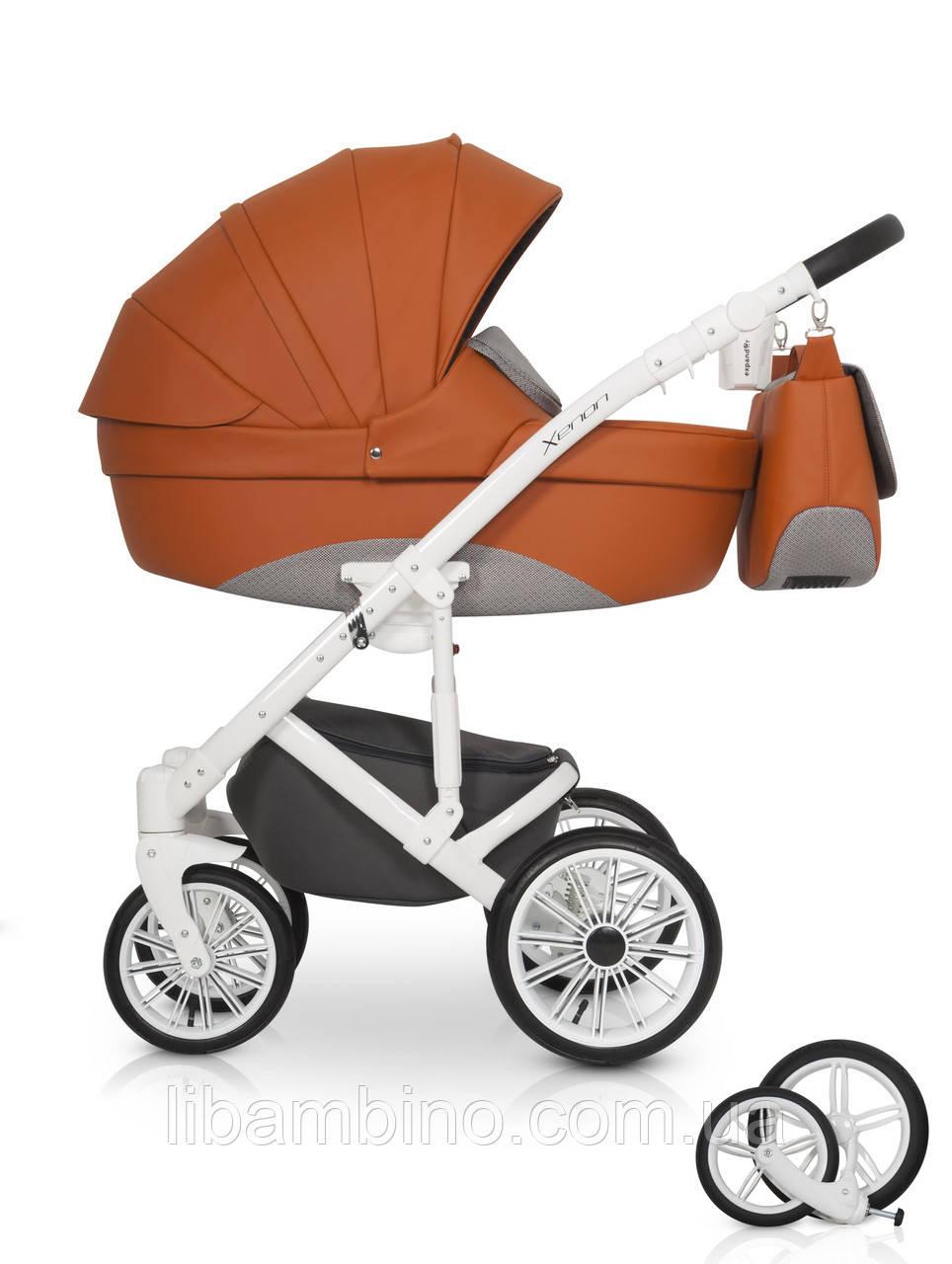 Дитяча універсальна коляска 2 в 1 Riko Xenon 02 Copper